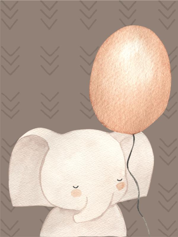 בוהו קשת עם ענן - פיל