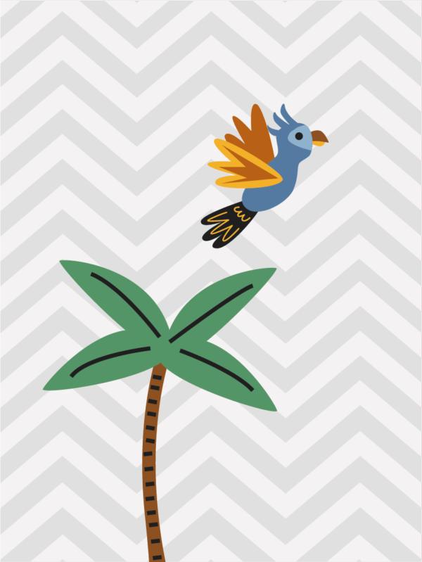 ג'ונגל - עץ דקל