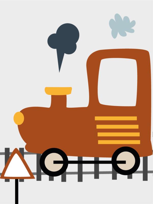 תמונה ממוסגרת רכבת 3