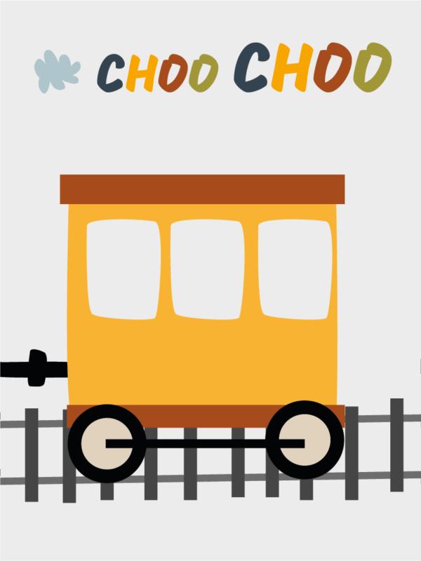 תמונה ממוסגרת רכבת 2